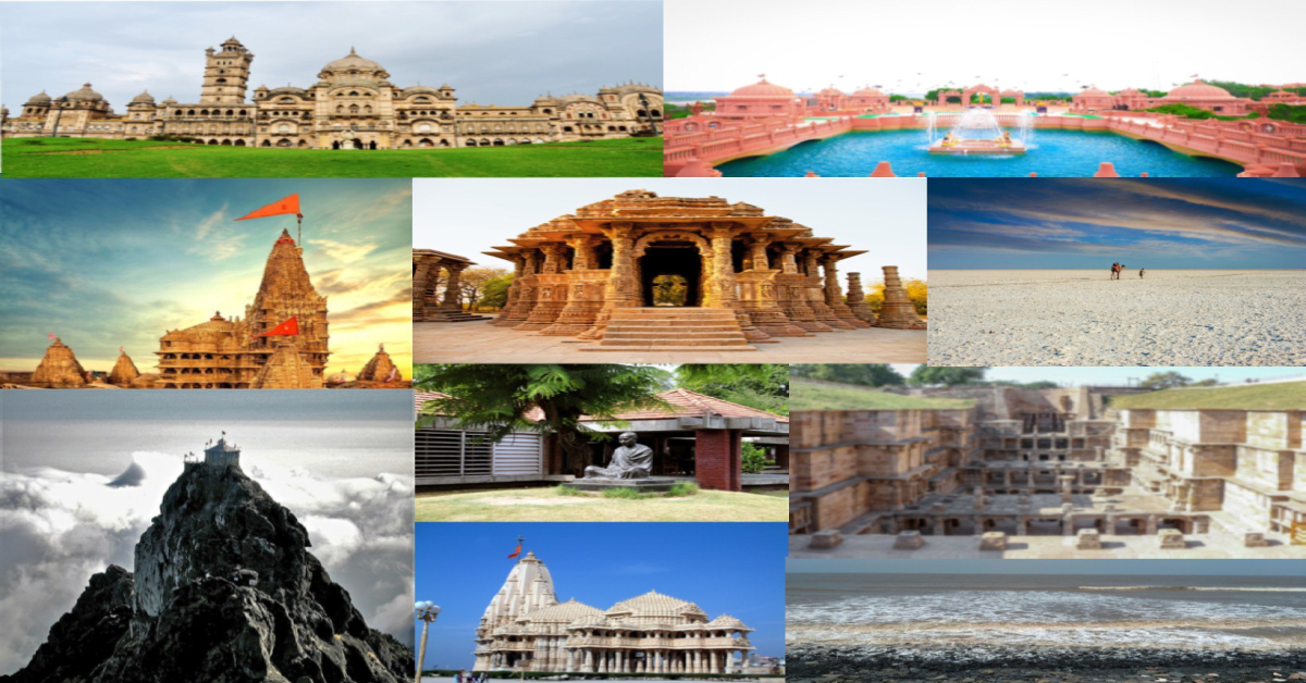 TOP 10 PLACES FOR TOURIST IN GUJARAT